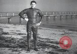 Image of swimmer United States USA, 1945, second 4 stock footage video 65675060339