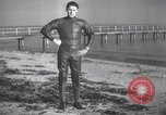 Image of swimmer United States, 1945, second 5 stock footage video 65675060339