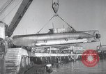 Image of German midget submarines Germany, 1944, second 10 stock footage video 65675060344