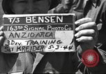 Image of 3rd Division soldiers Anzio Italy, 1944, second 5 stock footage video 65675060347
