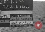 Image of 3rd Division soldiers Anzio Italy, 1944, second 4 stock footage video 65675060350