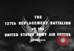 Image of 127th Replacement Battalion activities England, 1944, second 9 stock footage video 65675060358