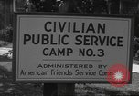 Image of Civilian Public Service personnel United States USA, 1943, second 4 stock footage video 65675060363