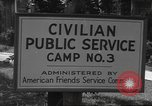 Image of Civilian Public Service personnel United States USA, 1943, second 6 stock footage video 65675060363