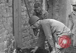 Image of Allied troops Carentan France, 1944, second 5 stock footage video 65675060388