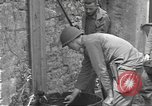Image of Allied troops Carentan France, 1944, second 10 stock footage video 65675060388