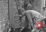 Image of Allied troops Carentan France, 1944, second 11 stock footage video 65675060388