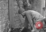 Image of Allied troops Carentan France, 1944, second 12 stock footage video 65675060388
