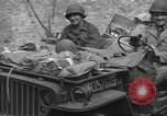 Image of Allied troops Carentan France, 1944, second 9 stock footage video 65675060389