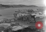 Image of U.S. Army Vehicles being loaded on LSTs before D-Day Falmouth England, 1944, second 2 stock footage video 65675060406