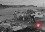 Image of U.S. Army Vehicles being loaded on LSTs before D-Day Falmouth England, 1944, second 4 stock footage video 65675060406