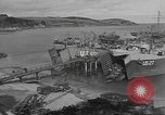 Image of U.S. Army Vehicles being loaded on LSTs before D-Day Falmouth England, 1944, second 5 stock footage video 65675060406