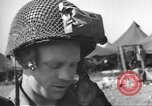 Image of 502nd Parachute Infantry Regiment, 101st Airborne Division England, 1944, second 10 stock footage video 65675060408