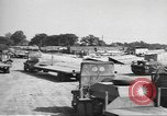 Image of Waco CG-4 gliders being assembled prior to D-Day England, 1944, second 4 stock footage video 65675060409