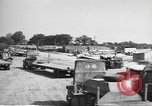 Image of Waco CG-4 gliders being assembled prior to D-Day England, 1944, second 7 stock footage video 65675060409