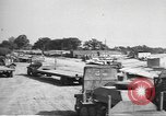 Image of Waco CG-4 gliders being assembled prior to D-Day England, 1944, second 9 stock footage video 65675060409