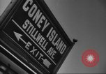 Image of Coney Island Brooklyn New York USA, 1947, second 7 stock footage video 65675060416