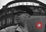 Image of Fans at Ebbets Field Brooklyn Dodgers baseball game Brooklyn New York USA, 1947, second 2 stock footage video 65675060417