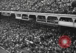 Image of Fans at Ebbets Field Brooklyn Dodgers baseball game Brooklyn New York USA, 1947, second 6 stock footage video 65675060417