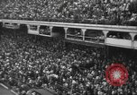 Image of Fans at Ebbets Field Brooklyn Dodgers baseball game Brooklyn New York USA, 1947, second 7 stock footage video 65675060417