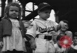 Image of Fans at Ebbets Field Brooklyn Dodgers baseball game Brooklyn New York USA, 1947, second 8 stock footage video 65675060417