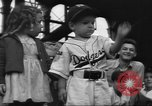 Image of Fans at Ebbets Field Brooklyn Dodgers baseball game Brooklyn New York USA, 1947, second 9 stock footage video 65675060417