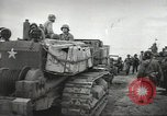 Image of Allied forces ashore following D-day invasion Normandy France, 1944, second 4 stock footage video 65675060419