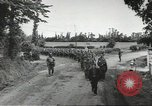 Image of German prisoners of war taken in Allied invasion Normandy France, 1944, second 2 stock footage video 65675060420