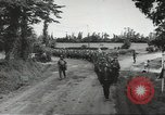 Image of German prisoners of war taken in Allied invasion Normandy France, 1944, second 3 stock footage video 65675060420