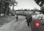 Image of German prisoners of war taken in Allied invasion Normandy France, 1944, second 4 stock footage video 65675060420