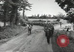 Image of German prisoners of war taken in Allied invasion Normandy France, 1944, second 5 stock footage video 65675060420