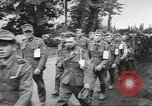 Image of German prisoners of war taken in Allied invasion Normandy France, 1944, second 6 stock footage video 65675060420