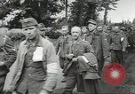 Image of German prisoners of war taken in Allied invasion Normandy France, 1944, second 9 stock footage video 65675060420