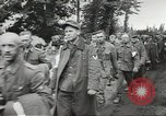 Image of German prisoners of war taken in Allied invasion Normandy France, 1944, second 10 stock footage video 65675060420