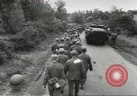Image of German prisoners of war taken in Allied invasion Normandy France, 1944, second 11 stock footage video 65675060420