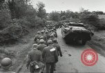 Image of German prisoners of war taken in Allied invasion Normandy France, 1944, second 12 stock footage video 65675060420