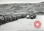 Image of Ceremony at the first US military cemetery at Omaha Beach Normandy France, 1944, second 3 stock footage video 65675060423