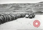 Image of Ceremony at the first US military cemetery at Omaha Beach Normandy France, 1944, second 5 stock footage video 65675060423