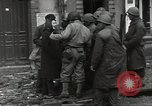 Image of Allied troops Cherbourg France, 1944, second 11 stock footage video 65675060428