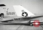Image of F8U-2 Crusader fighter plane United States USA, 1961, second 2 stock footage video 65675060535