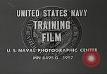 Image of F8U-2N Crusader fighter plane United States USA, 1957, second 7 stock footage video 65675060540