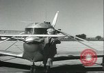 Image of Flivver plane Burbank California USA, 1934, second 4 stock footage video 65675060545