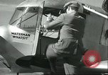 Image of Flivver plane Burbank California USA, 1934, second 8 stock footage video 65675060545