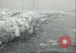 Image of ice and water flood Amenia New York USA, 1934, second 4 stock footage video 65675060547