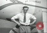 Image of airman Felix Waitkus New York United States USA, 1935, second 9 stock footage video 65675060551