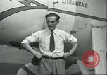 Image of airman Felix Waitkus New York United States USA, 1935, second 11 stock footage video 65675060551