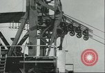 Image of cables for Golden Gate Bridge San Francisco California USA, 1935, second 12 stock footage video 65675060564