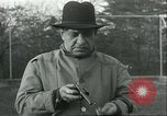Image of Blind Senator Thomas D Schall firing a pistol Berwyn Heights Maryland USA, 1935, second 3 stock footage video 65675060566