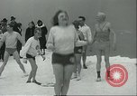 Image of ice-strewn water Chicago Illinois USA, 1935, second 7 stock footage video 65675060567