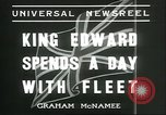 Image of King Edward VIII Portland England, 1936, second 7 stock footage video 65675060572